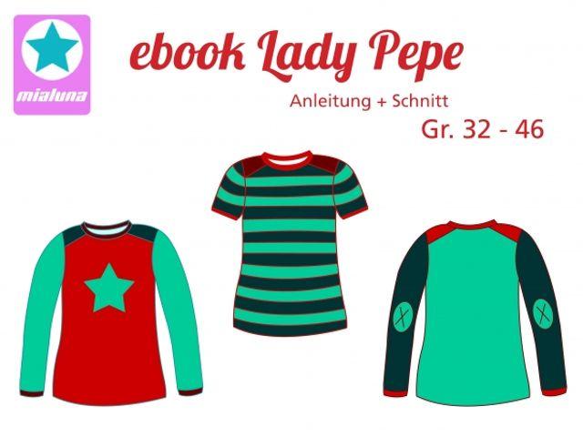 Produktfoto von mialuna zum Nähen für Schnittmuster Lady Pepe