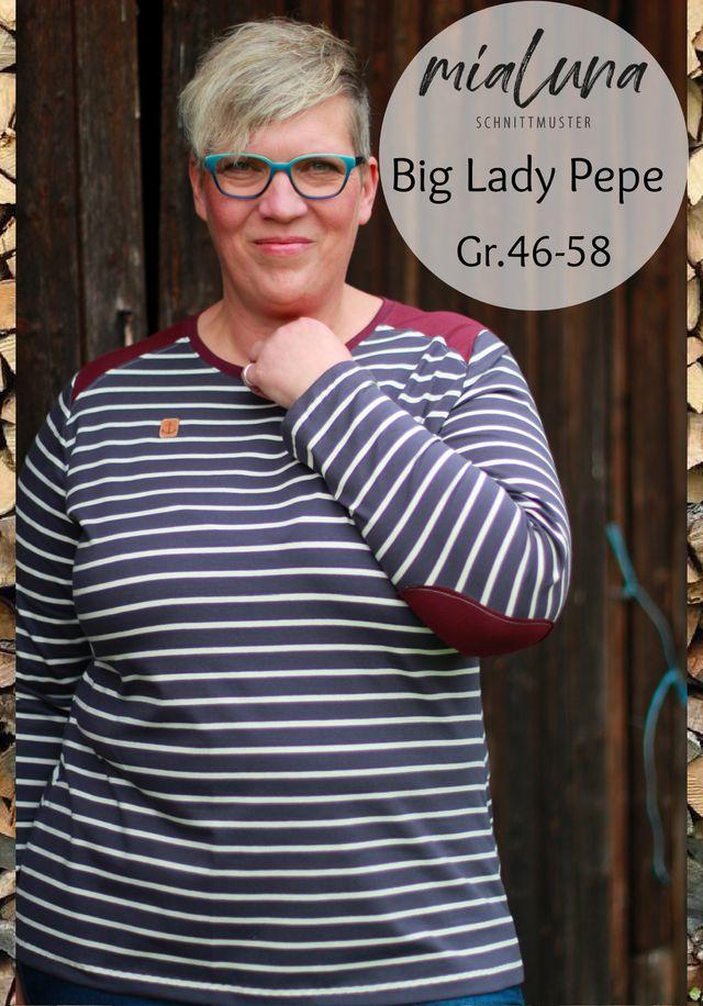 Produktfoto von mialuna zum Nähen für Schnittmuster Big Lady Pepe