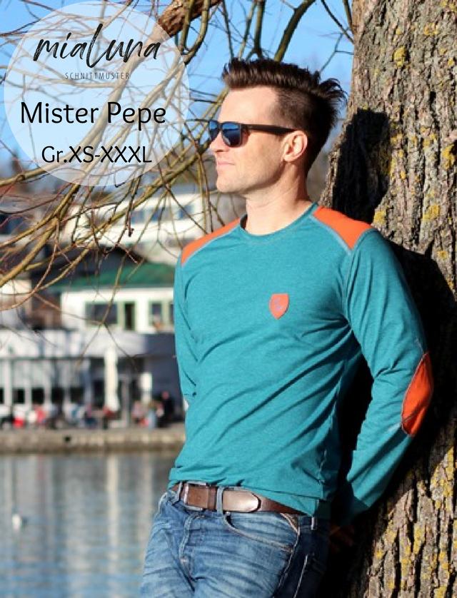 Produktfoto von mialuna zum Nähen für Schnittmuster Mister Pepe
