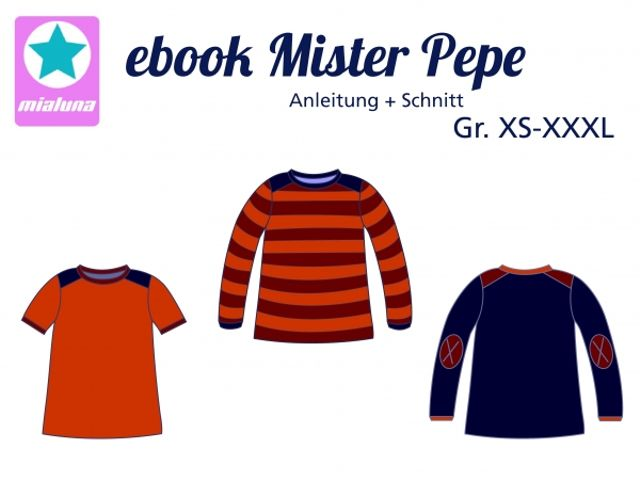 Produktfoto von mialuna für Schnittmuster Mister Pepe