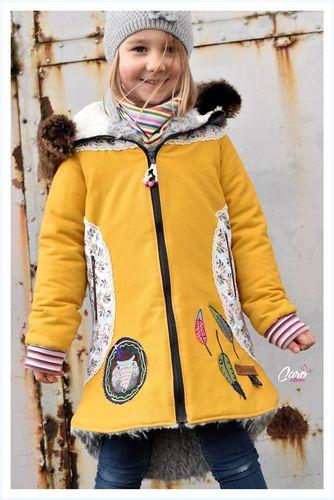 Produktfoto von Meine Herzenswelt zum Nähen für Schnittmuster Mantel Kinder - Nayla