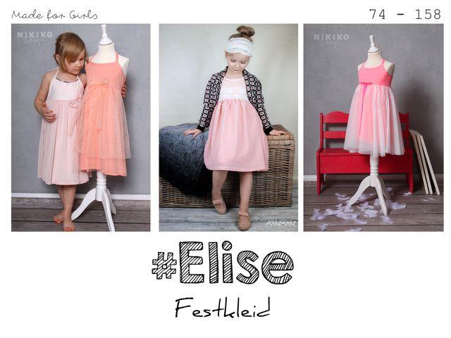Produktfoto von rosarosa zum Nähen für Schnittmuster Elise