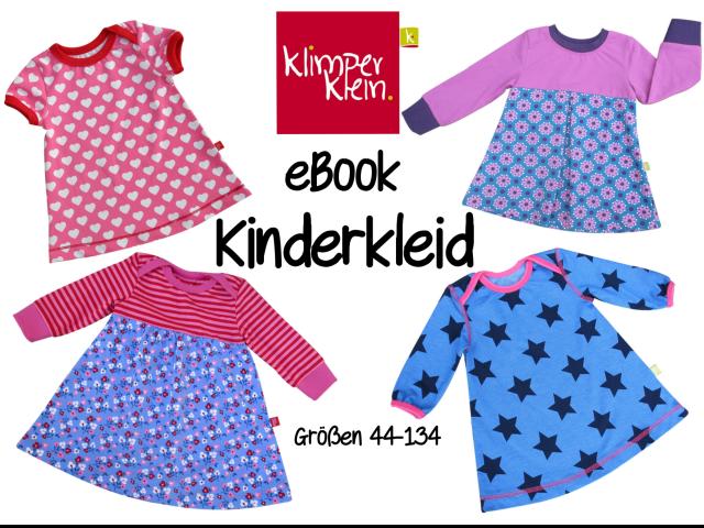 Produktfoto von klimperklein zum Nähen für Schnittmuster Kinderkleid