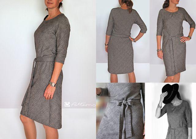 Produktfoto von B-Patterns zum Nähen für Schnittmuster Kleid Sonia_B