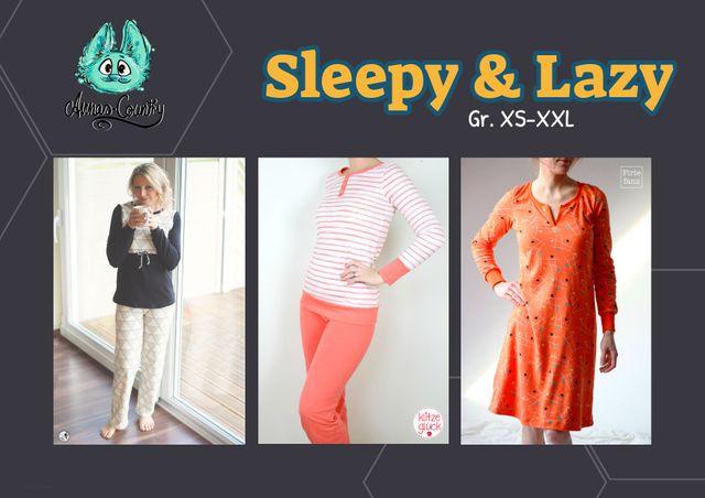 Produktfoto von Annas-Country zum Nähen für Schnittmuster Sleepy & Lazy