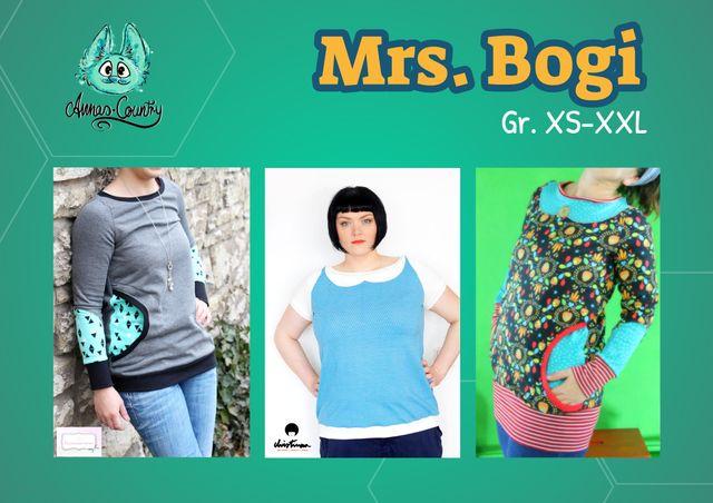 Produktfoto von Annas-Country zum Nähen für Schnittmuster Mrs. Bogi