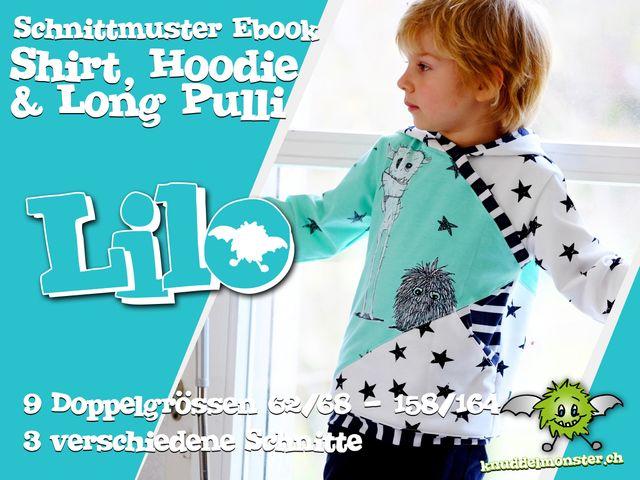Produktfoto von Knuddelmonster zum Nähen für Schnittmuster Lilo 2.0