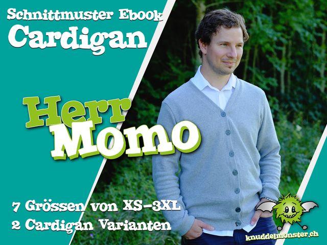 Produktfoto von Knuddelmonster zum Nähen für Schnittmuster Herr Momo