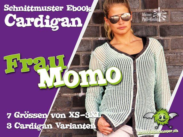 Produktfoto von Knuddelmonster zum Nähen für Schnittmuster Frau Momo