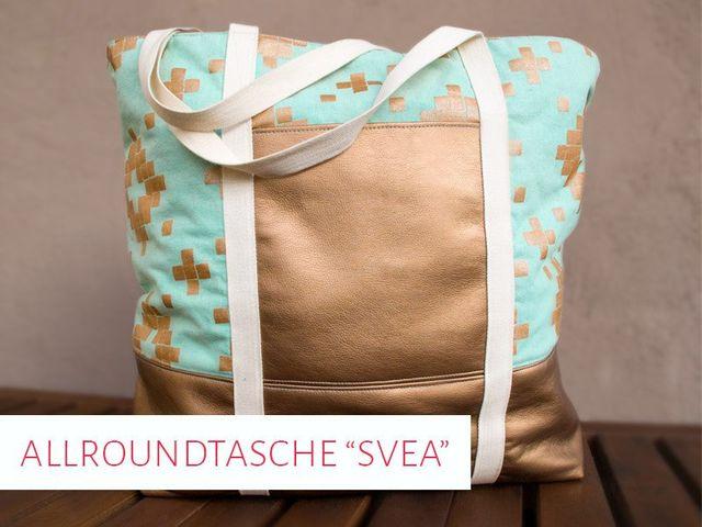 Produktfoto von kreativlabor Berlin zum Nähen für Schnittmuster Allroundtasche Svea