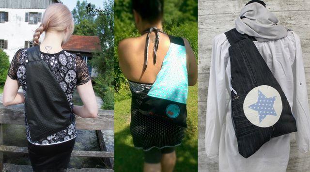 Produktfoto von Frau Ninchen zum Nähen für Schnittmuster Crossbag Bäggi