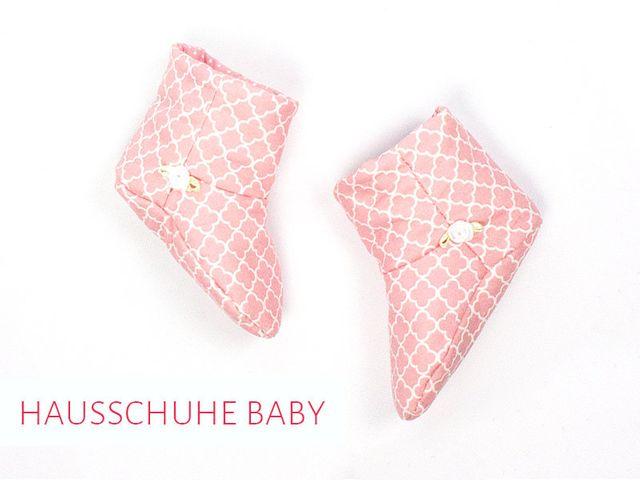 Produktfoto von kreativlabor Berlin zum Nähen für Schnittmuster Babyschuhe Gunilla