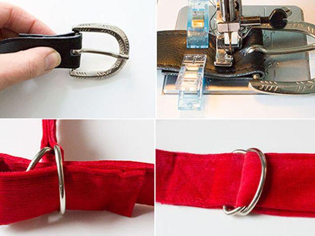 Produktfoto von kreativlabor Berlin zum Nähen für Schnittmuster Stylische Gürtel