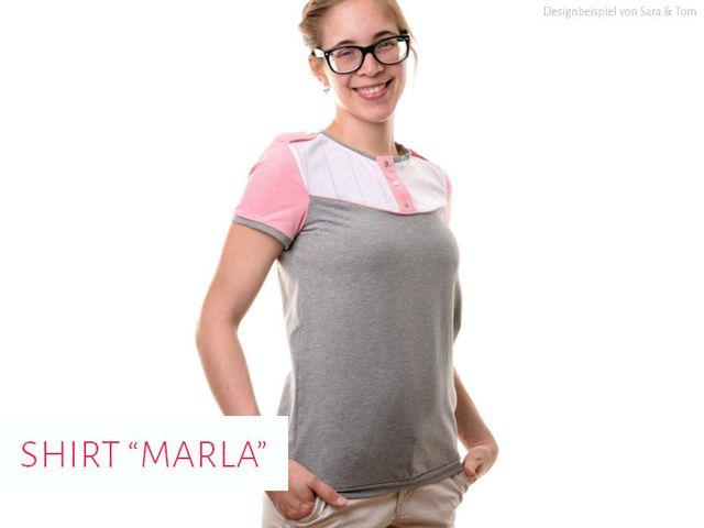 Produktfoto von kreativlabor Berlin zum Nähen für Schnittmuster Marla
