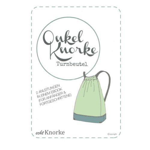 Produktfoto von echt Knorke zum Nähen für Schnittmuster Onkel Knorke