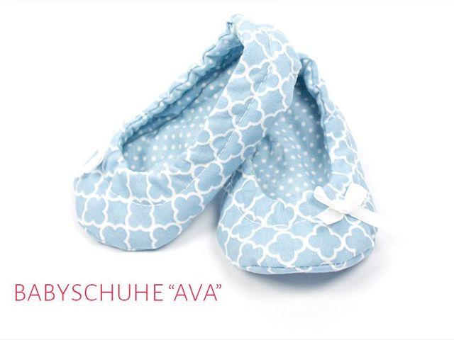 Produktfoto von kreativlabor Berlin zum Nähen für Schnittmuster Babyschuhe Ava