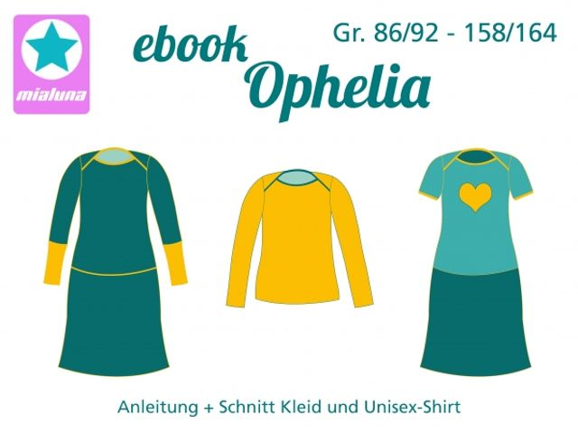 Produktfoto von mialuna zum Nähen für Schnittmuster Ophelia