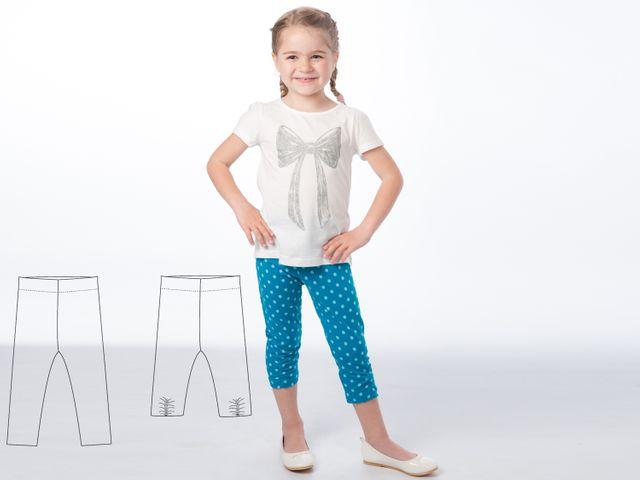 Produktfoto von Pattern 4 kids zum Nähen für Schnittmuster Bibi