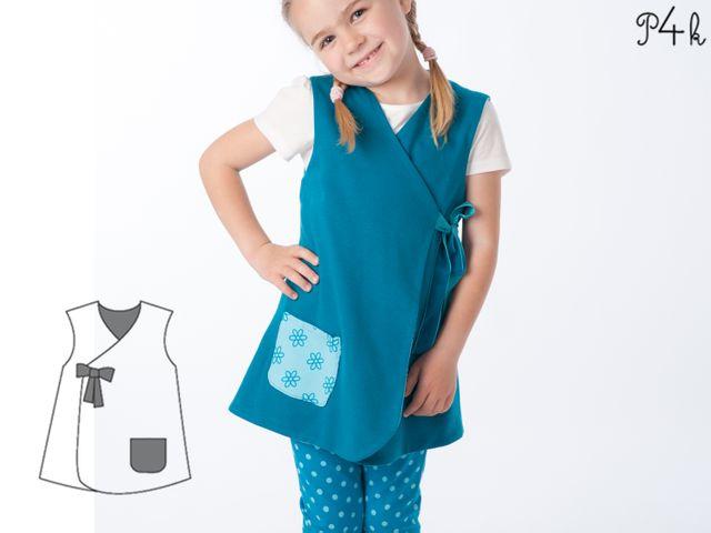 Produktfoto von Pattern 4 kids zum Nähen für Schnittmuster Marie