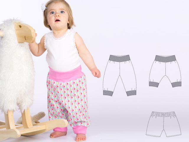Produktfoto von Pattern 4 kids zum Nähen für Schnittmuster Aria