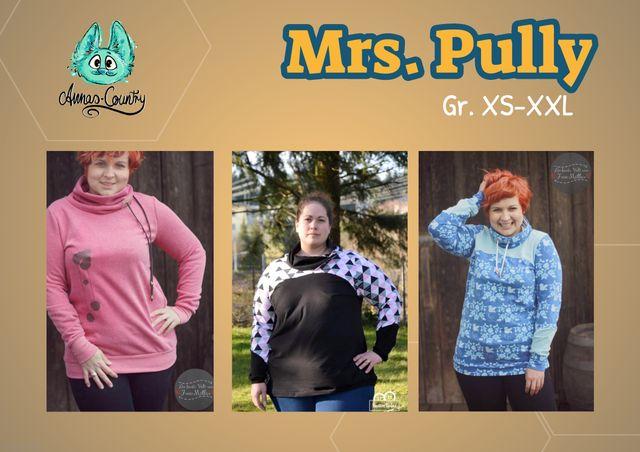 Produktfoto von Annas-Country zum Nähen für Schnittmuster Mrs. Pully