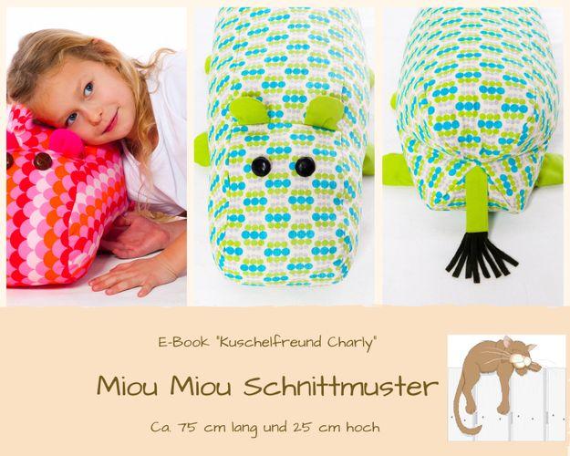 Produktfoto von Miou Miou zum Nähen für Schnittmuster Sitzkissen Charly