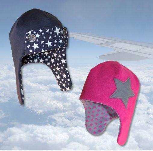 Produktfoto von Windschnittich zum Nähen für Schnittmuster Fliegermütze