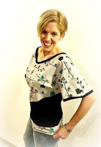 Produktfoto von My Little Ladybird zum Nähen für Schnittmuster Fledermausshirt Lenya