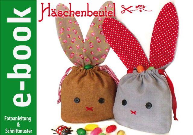 Produktfoto von Märzenbecher zum Nähen für Schnittmuster Häschenbeutel