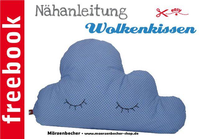 Produktfoto von Märzenbecher zum Nähen für Schnittmuster Das Wolkenkissen