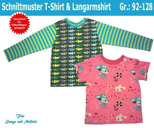 Produktfoto von Trash Monstarz zum Nähen für Schnittmuster T-Shirt & Langarmshirt