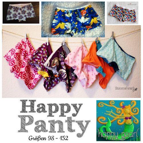 Produktfoto von Happy Pearl zum Nähen für Schnittmuster Happy Panty