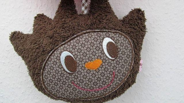 Produktfoto von I'm sew happy! zum Nähen für Schnittmuster Spieluhr und Körnerkissen IGEL