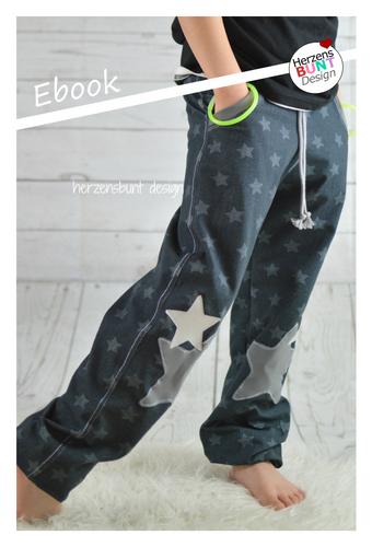 Produktfoto von Herzensbunt Design zum Nähen für Schnittmuster Sportskanönchen