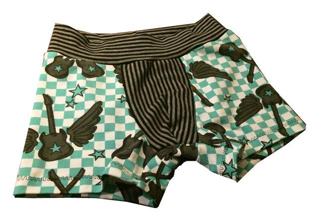 Produktfoto von kleinerspatz zum Nähen für Schnittmuster Boxershorts Badehose Bruderherz
