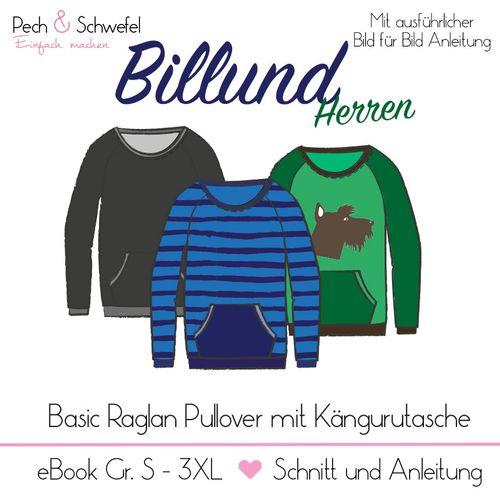 Produktfoto von Pech & Schwefel für Schnittmuster Pullover Billund Herren