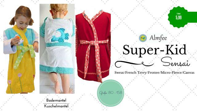 Produktfoto von Almfee zum Nähen für Schnittmuster Super-Kid Sensai