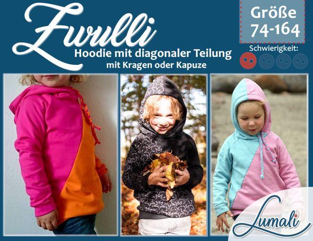 Produktfoto von Lumali zum Nähen für Schnittmuster Zwulli