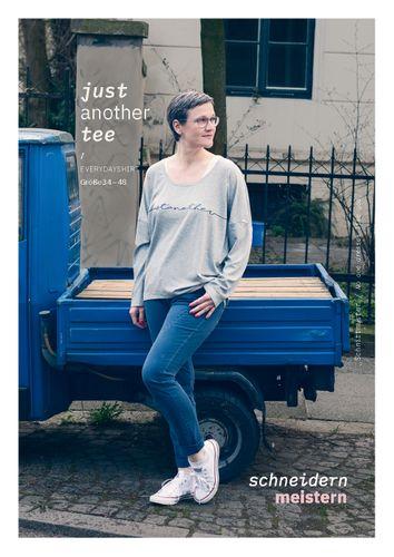 Produktfoto von schneidernmeistern zum Nähen für Schnittmuster just another tee