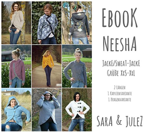 Produktfoto von Sara & Julez zum Nähen für Schnittmuster Neesha