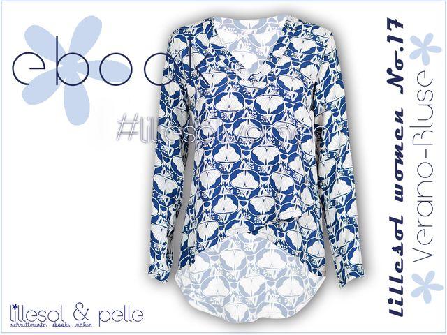 Produktfoto von Lillesol & Pelle zum Nähen für Schnittmuster Lillesol women No.17 Verano-Bluse