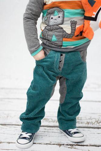 Produktfoto von Meine Herzenswelt zum Nähen für Schnittmuster Hose Kinder - Deine Sverre