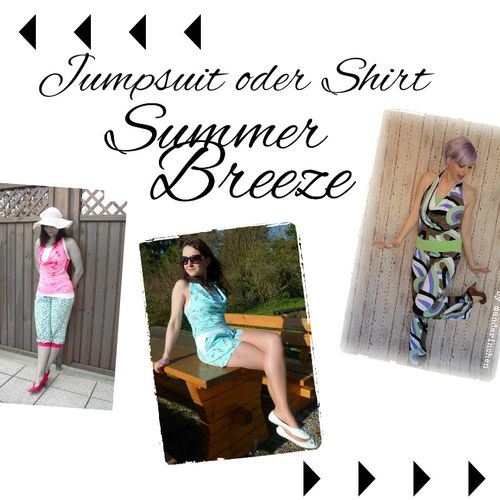 Produktfoto von Mamili1910 zum Nähen für Schnittmuster Jumpsuit SummerBreeze