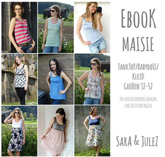 Produktfoto von Sara & Julez zum Nähen für Schnittmuster Maisie