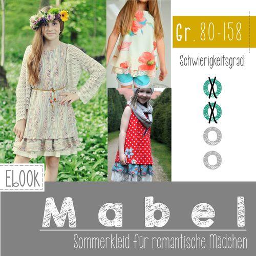 Produktfoto von FeeFee zum Nähen für Schnittmuster Sommerkleid Mabel