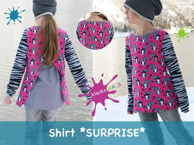 Produktfoto von klecksMACS zum Nähen für Schnittmuster Surprise