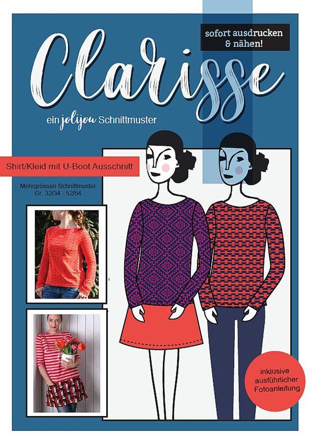 Produktfoto von Jolijou zum Nähen für Schnittmuster Clarisse