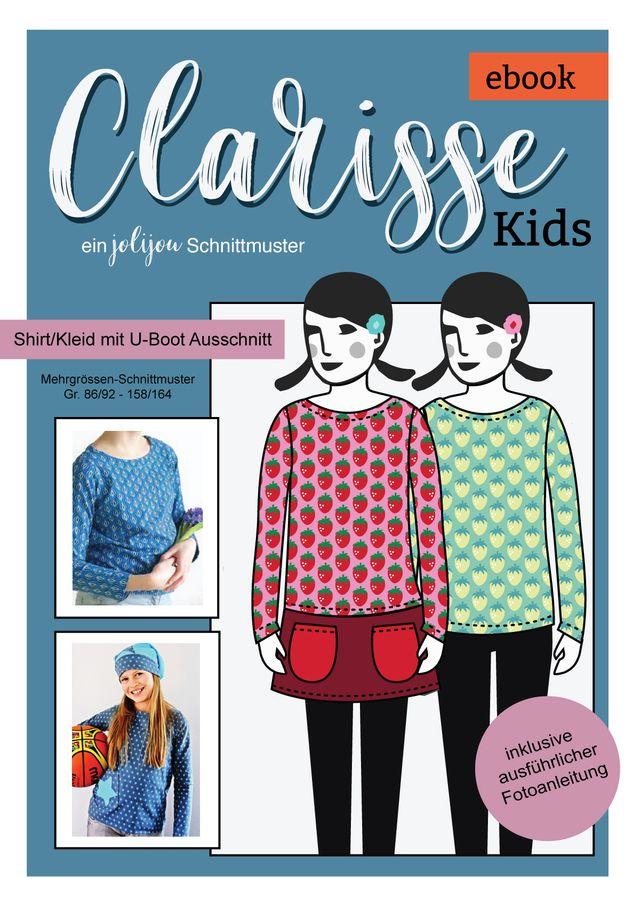 Produktfoto von Jolijou zum Nähen für Schnittmuster Clarisse Kids