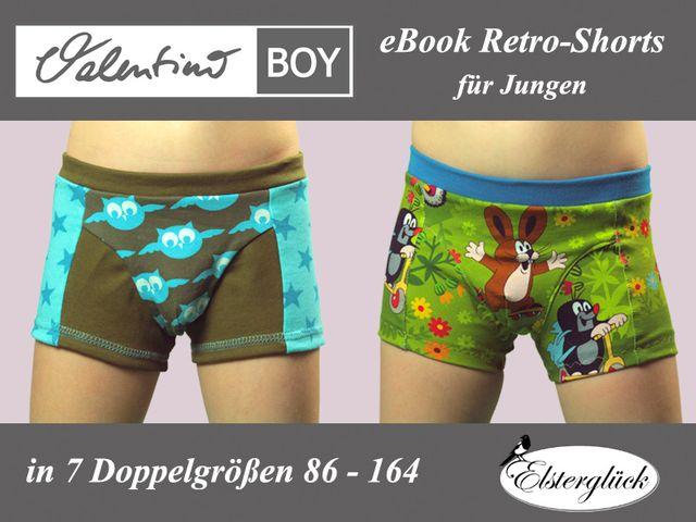 Produktfoto von Elsterglück zum Nähen für Schnittmuster Valentino Boy