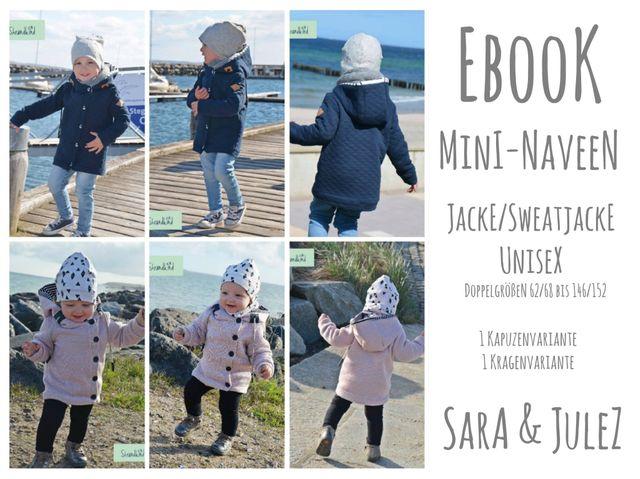 Produktfoto von Sara & Julez zum Nähen für Schnittmuster Mini-Naveen